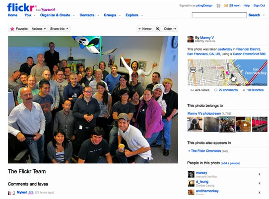 New Flickr Features