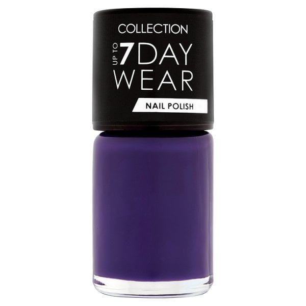 Collection Up to 7 Day Wear Nail Polish Purple Storm