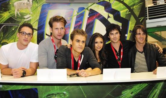 The Vampire Diaries Cast Reveals Season 2 Secrets at Comic-Con