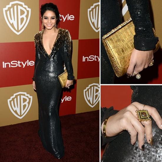 Vanessa Hudgens Golden Globes Party Fashion 2013