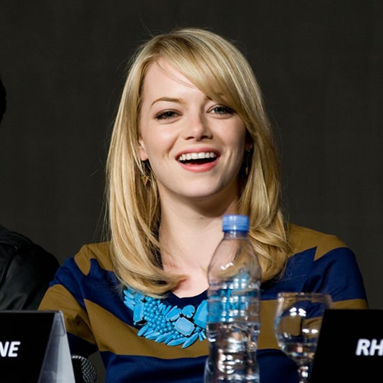 Emma Stone's Jewelry During the Amazing Spider-Man Tour