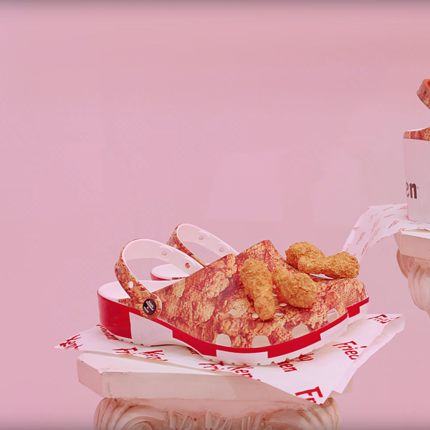 Kfc Fried Chicken Crocs Popsugar Food