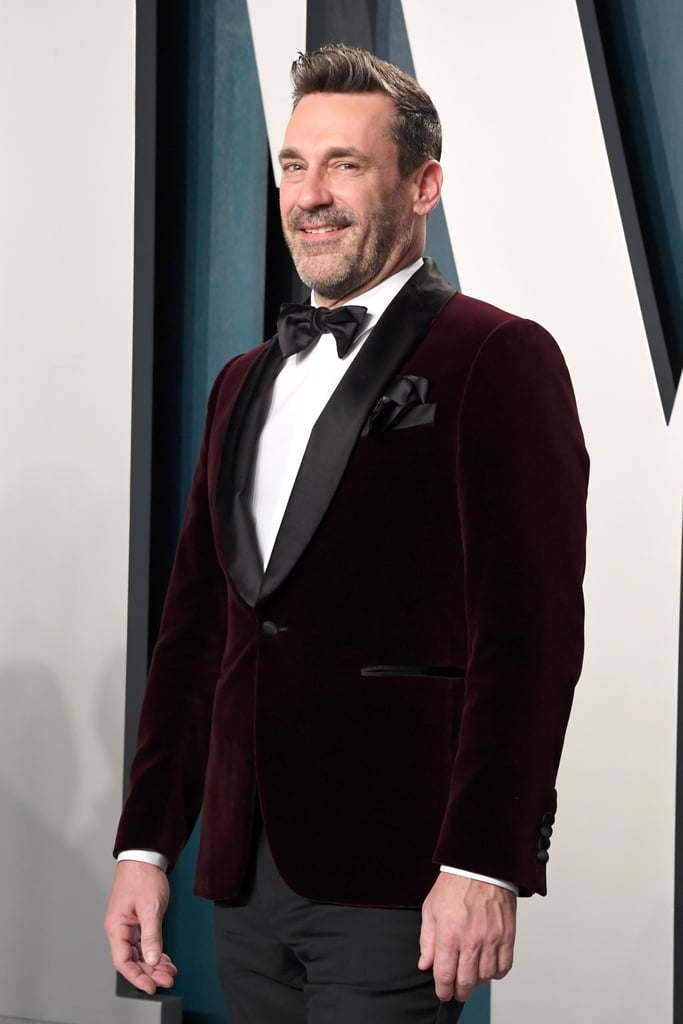 Jon Hamm at the Vanity Fair Oscars Afterparty 2020
