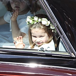 Princess Charlotte Took Control at the Royal Wedding 2018
