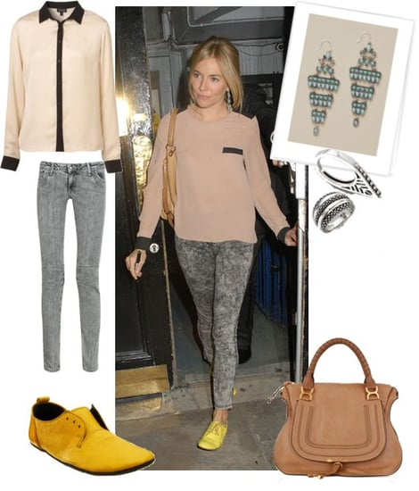 Pictures of Sienna Miller Street Style
