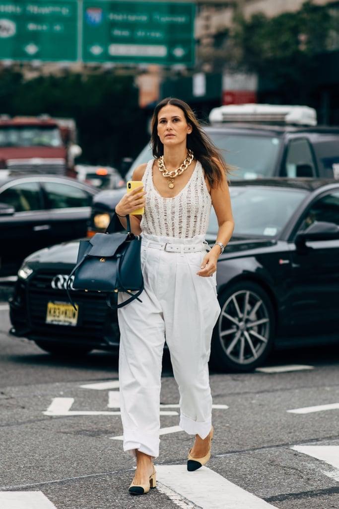 Fall Pants Trend 2019: '80s High-Waist Trouser