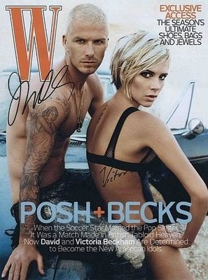 Ad Campaigns Magazine Covers Starring Beckhams