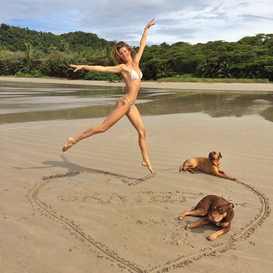 Gisele Bundchen Shares Bikini Photo on Instagram