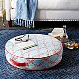 Deep Dive Printed Indoor/Outdoor Floor Cushion