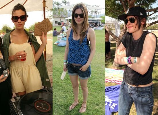 Photos of Celebrities at Coachella Music Festival 2010