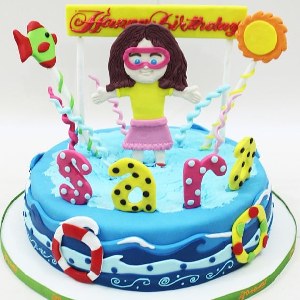 Pool Party Cakes POPSUGAR Moms