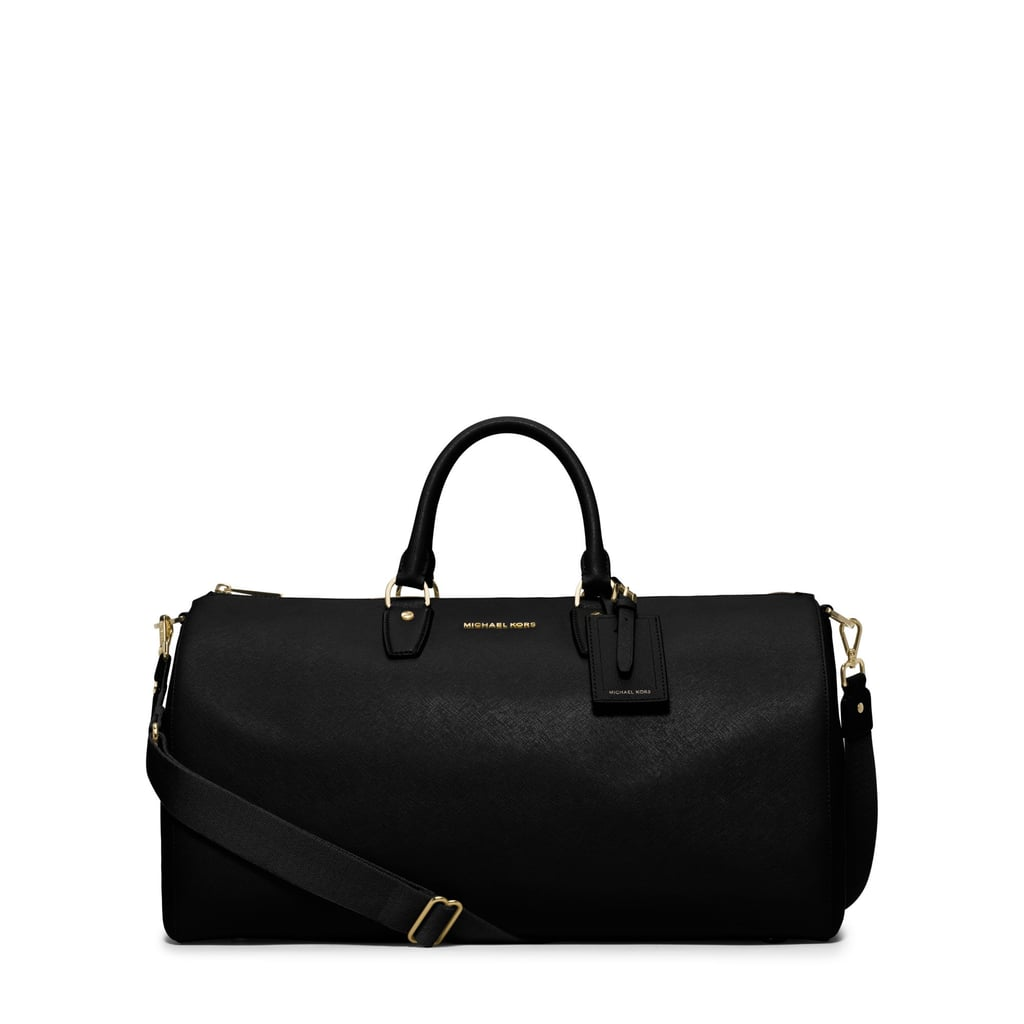 Michael Kors Jet Set Travel Large Leather Weekender ($398)