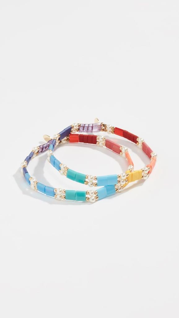 63d2ab65e Shashi Tilu Set of 2 Bracelets | Best Gifts Under $50 | POPSUGAR ...