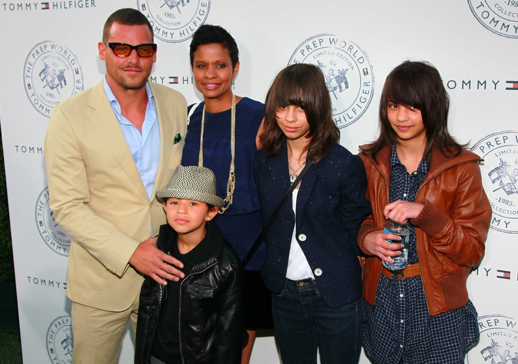 Take a Daily Dose of Justin Chambers's Family Pictures to Cure Any and All Blues