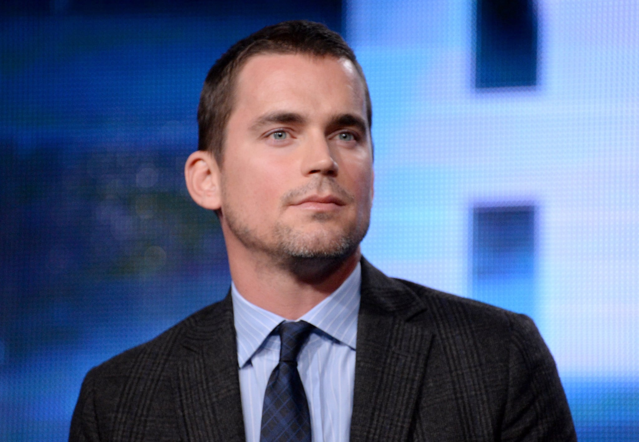 Matt Bomer S New Buzz Cut Hairstyle 2014 Popsugar Beauty
