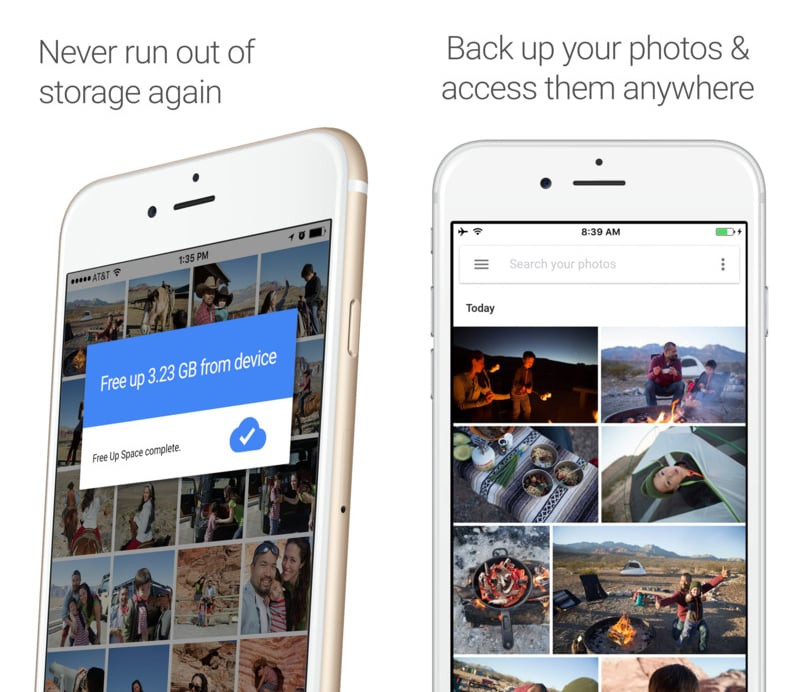 Google Photos (free)