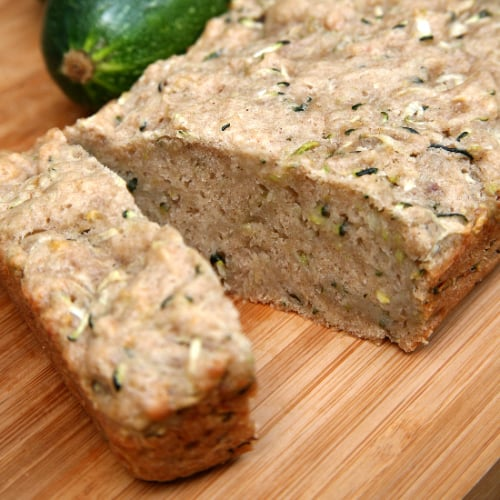 Healthy Zucchini Bread | Vegan