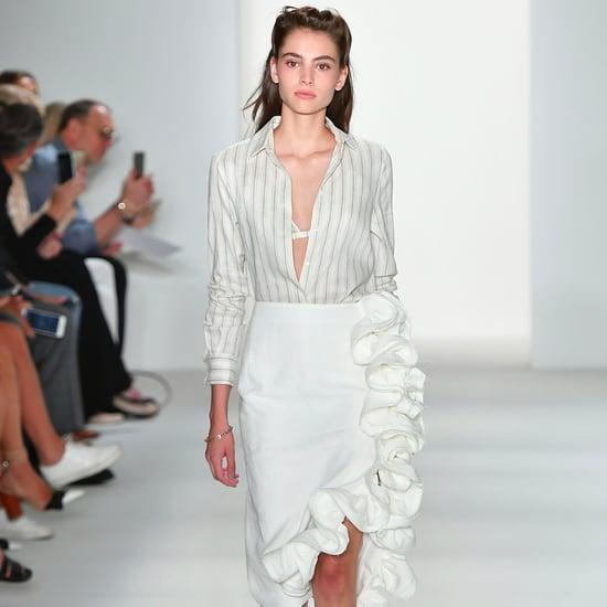 Ruffle Skirt Trend 2017 Spring