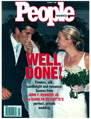 Carolyn Bessette And John F Kennedy Jr September 1996
