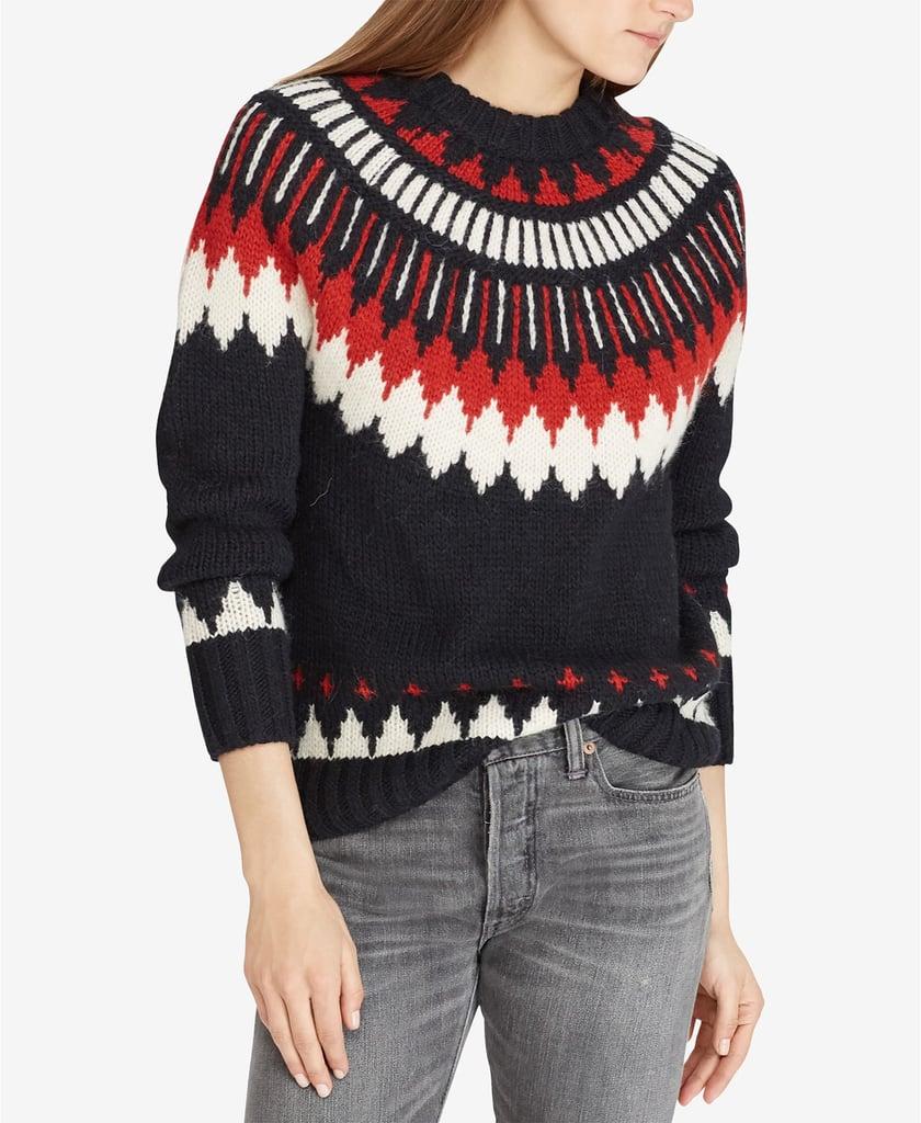 Polo Ralph Lauren Geometric Sweater
