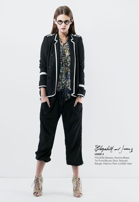Photos of Elizabeth and James Spring 2011 Lookbook Designed by Mary Kate and Ashley Olsen