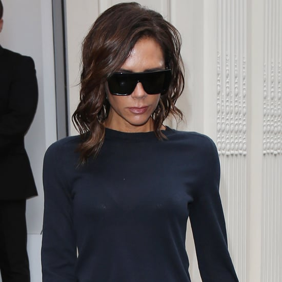 Victoria Beckham Monogrammed Sweater London September 2016
