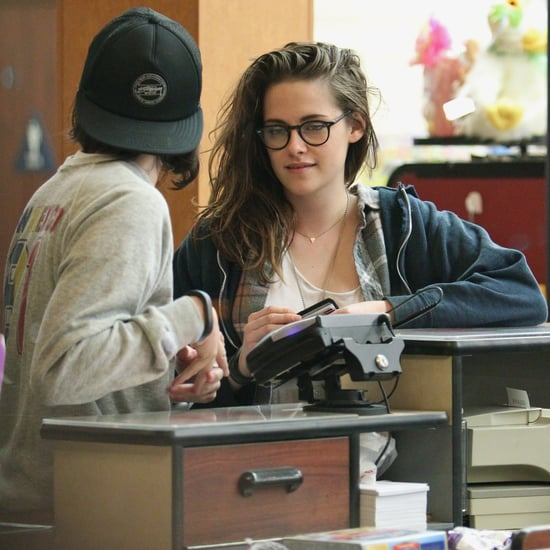 Kristen Stewart Grocery Shopping in LA
