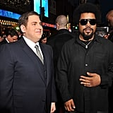 Jonah Hill caught up with Ice Cube.
