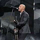 Daughtry was one of many artists who performed throughout the award show.