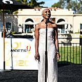 Cynthia Erivo at the 2020 Gold Meets Golden Party in LA