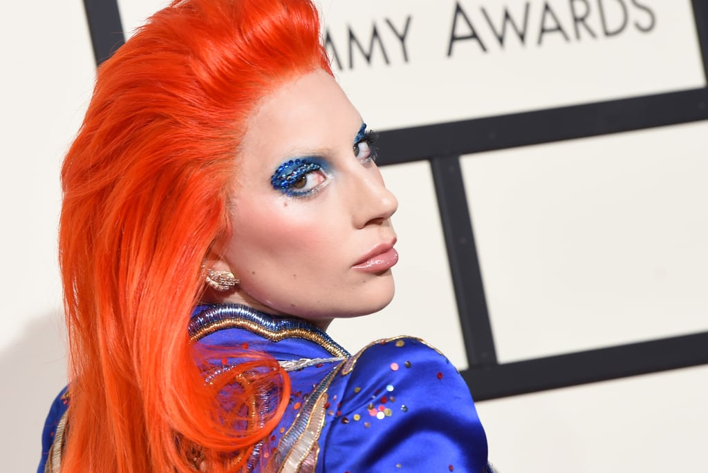 Lady Gaga Lightning Bolt Makeup