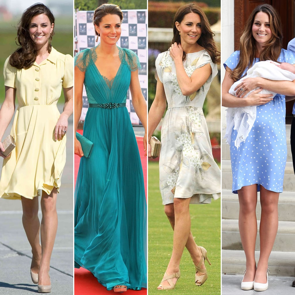 The Ultimate Guide to the Duchess of Cambridge's Iconic Jenny Packham Gowns
