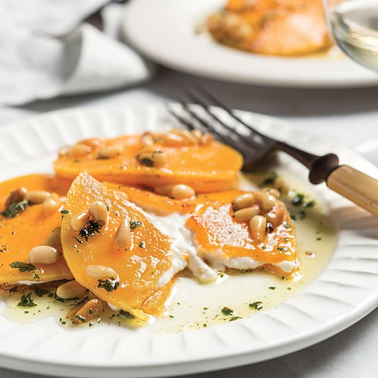 Butternut Squash Ravioli with Sage and Toasted Pine Nuts
