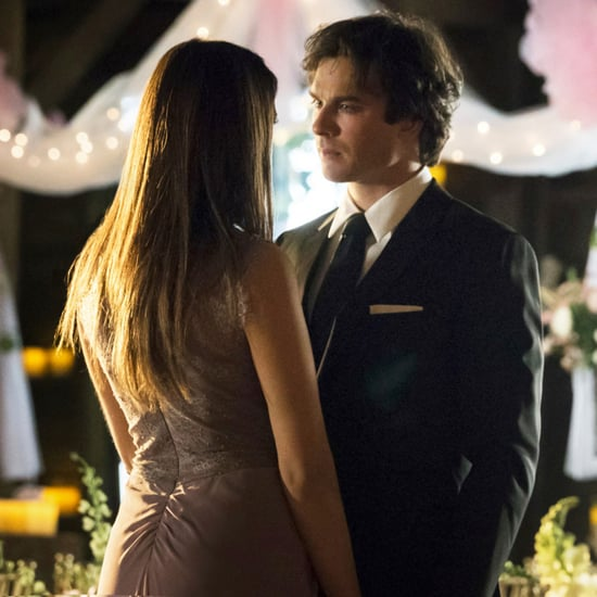 Damon and Elena Proposal Scene in The Vampire Diaries Finale
