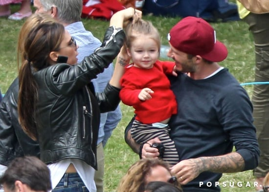 David-Victoria-Beckham-brought-daughter-Harper-watch
