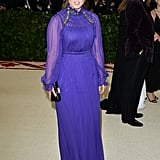 Princess Beatrice of York at the 2018 Met Gala