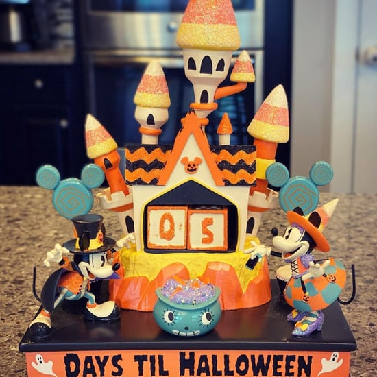 Mickey and Minnie Haunted House Halloween Countdown Calendar