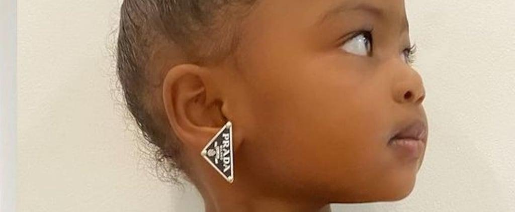 Gabrielle Union's Daughter Wears Her Prada Earrings