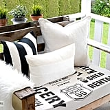 Stenciled Wood Pallet Chairs