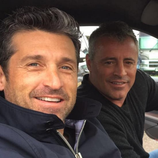 Matt LeBlanc's Instagram Picture With Patrick Dempsey