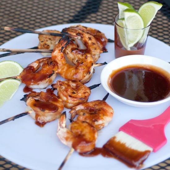 Sriracha Barbecue Shrimp
