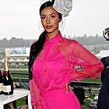 Maya Jama at Royal Ascot