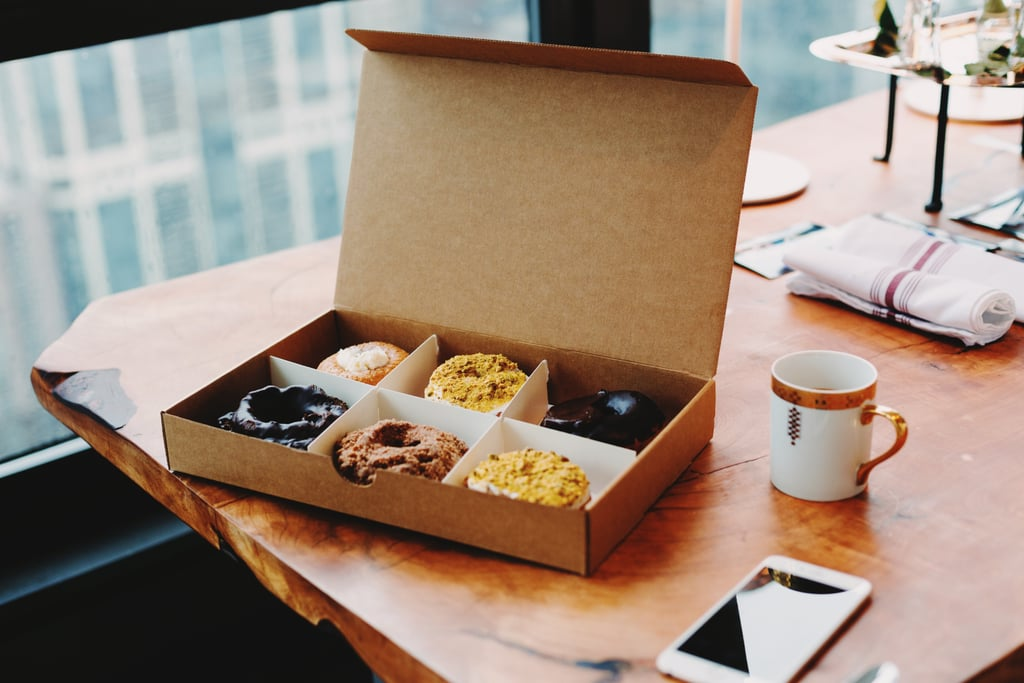 Bring sweet treats to the office to share.
