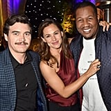 Pictured: Arturo Del Puerto, Jennifer Garner, and Travon Free