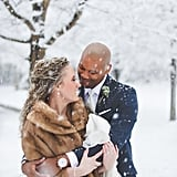 A snowstorm will add extra heat to your photoshoot.