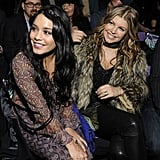Vanessa Hudgens and Fergie sat front row for Anna Sui in February 2011.
