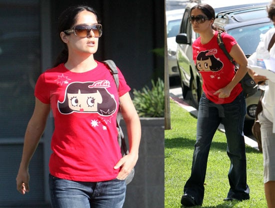 Photos of Newly Single Salma Hayek Out in LA