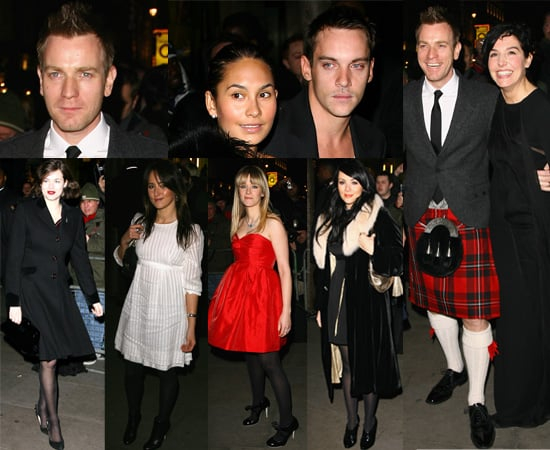 Ewan McGregor Attends Not Another Burns Night In A Traditional Kilt