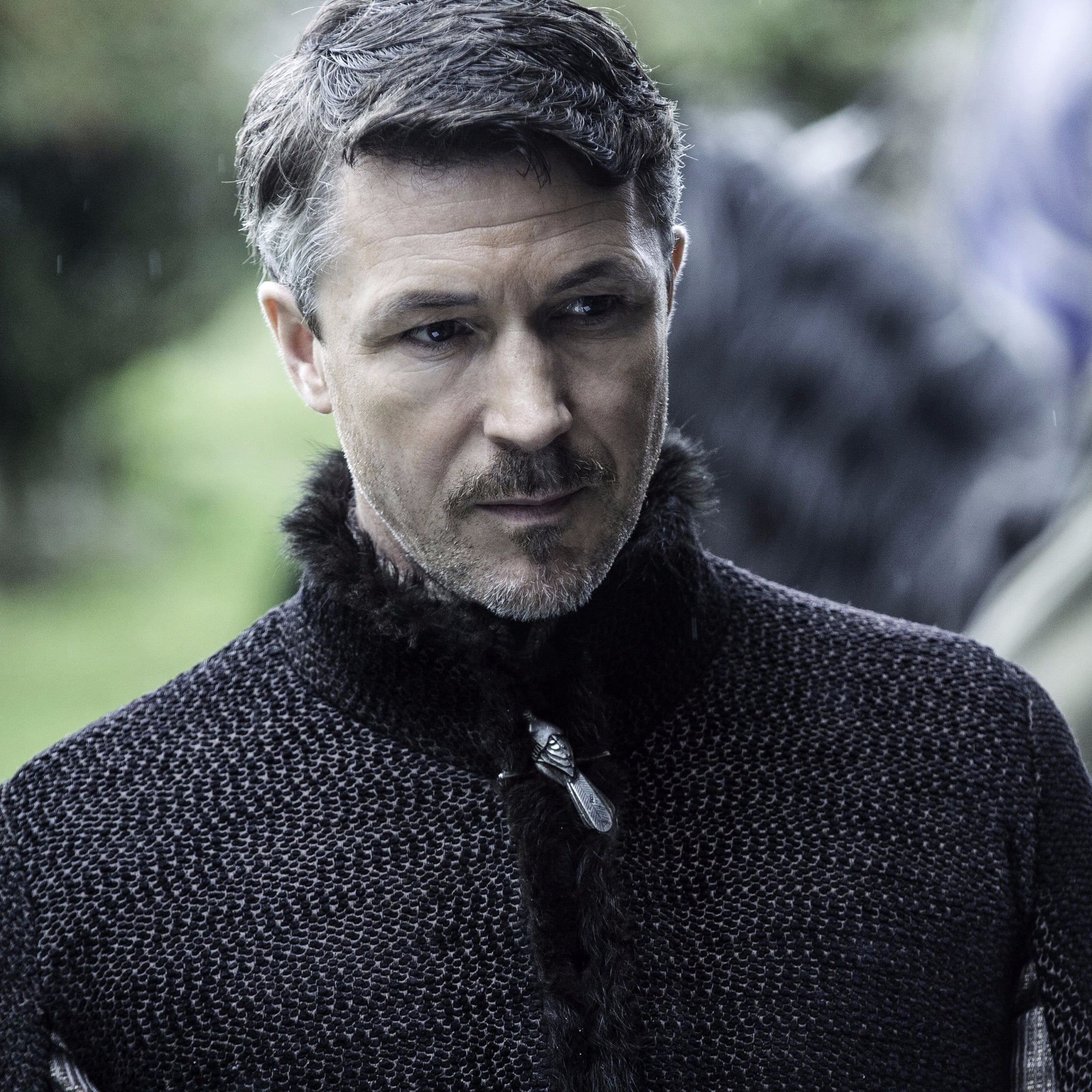 Petyr Baelish sobriquet Littlefinger, a fictional character in the A Song of Ice and Fire series of fantasy novels by George R. R. Martin, and Game of Thrones