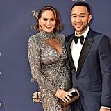 Chrissy Teigen's Zuhair Murad Dress at the 2018 Emmys